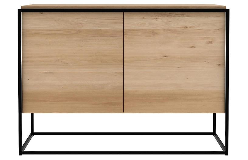 Monolit Sideboard, Black/Oak