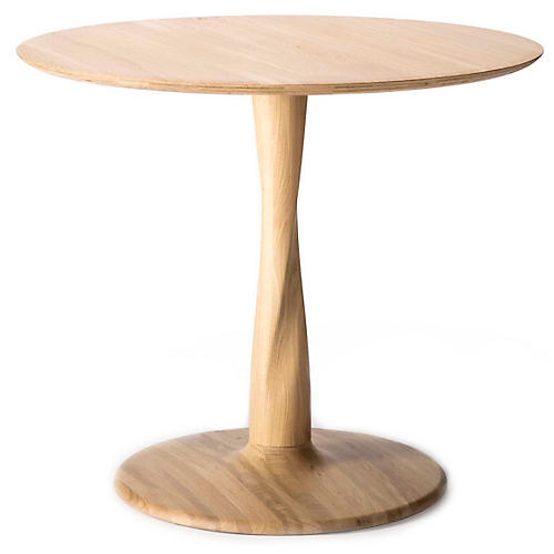 Torsion Dining Table, Oak