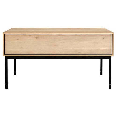 Whitebird Coffee Table, Oak/Black
