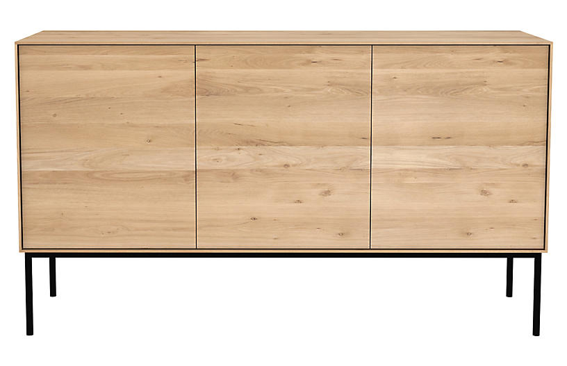 Whitebird Sideboard, Oak/Black