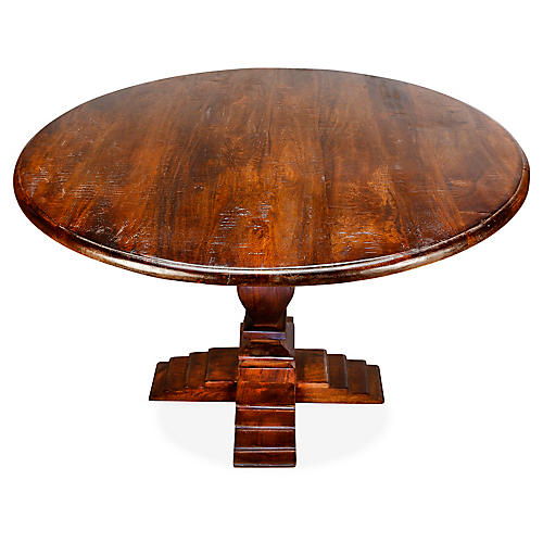 Diana Dining Table, Pecan