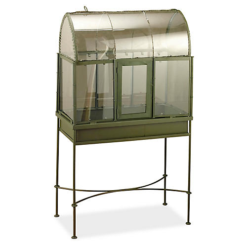 "51"" Walsh Terrarium, Army Green"