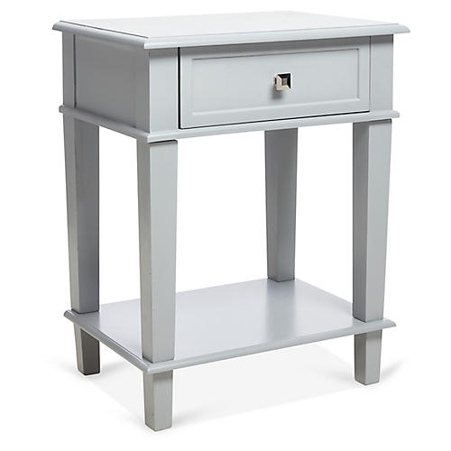 Elizabeth Nightstand, Light Gray