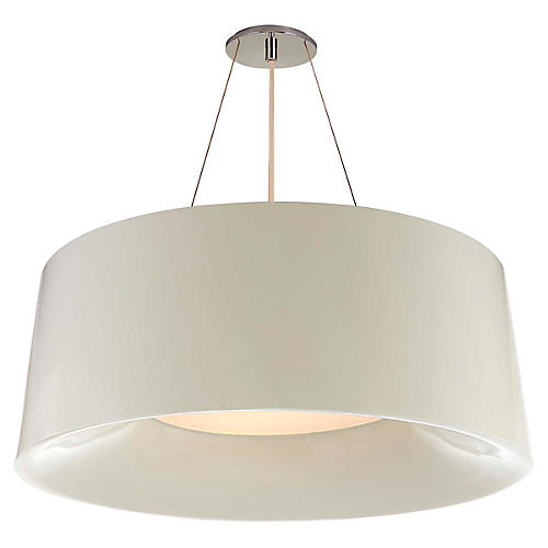 Halo Hanging Shade, Ivory