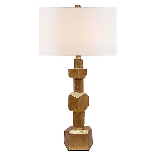 Vienne Tall Table Lamp, Gold