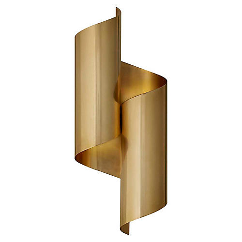 Iva Sconce, Antiqued Brass