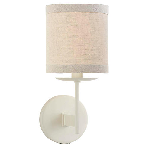 Walker Sconce, Light Cream