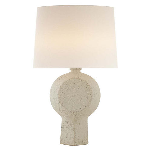Nicolae Table Lamp, Volcanic Ivory