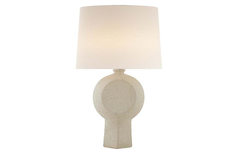 Nicolae Table Lamp, Volcanic Ivory