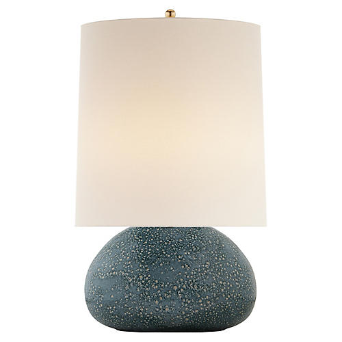 Sumava Table Lamp, Blue Lagoon
