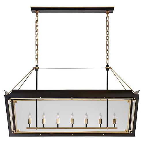 Caddo Lantern Linear, Matte Black