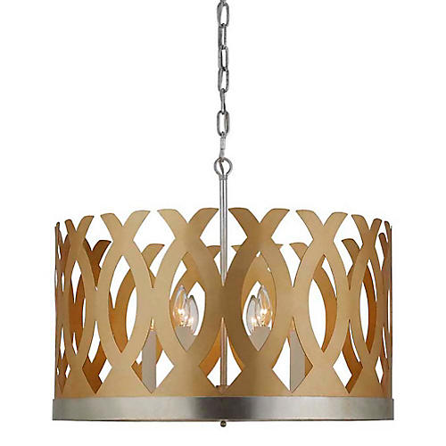 Ingrid Chandelier, Gold