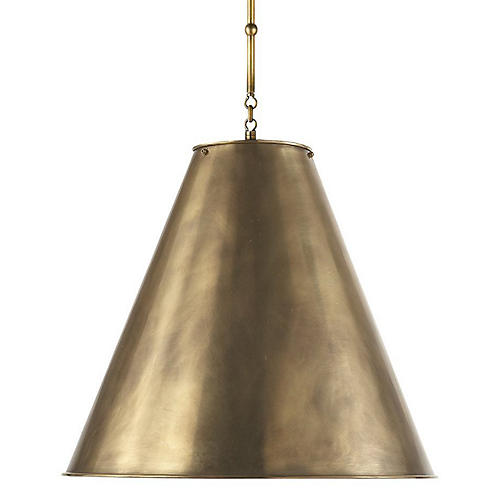 Goodman Hanging Shade, Brass