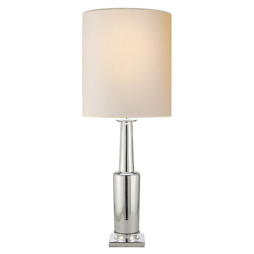 Fiona Small Table Lamp, Mercury Glass