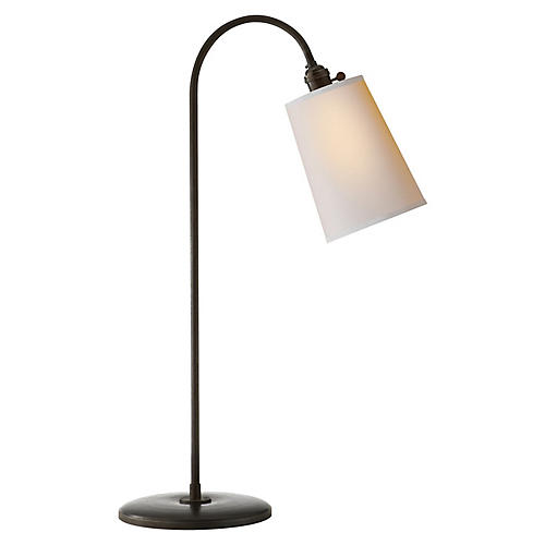 Mia Table Lamp, Aged Iron