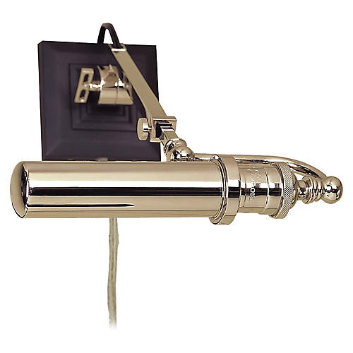Academy Picture Light, Polished Nickel