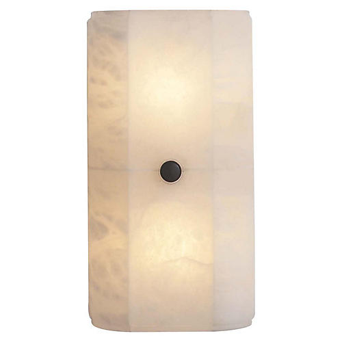 Roberto Alabaster Sconce, Natural