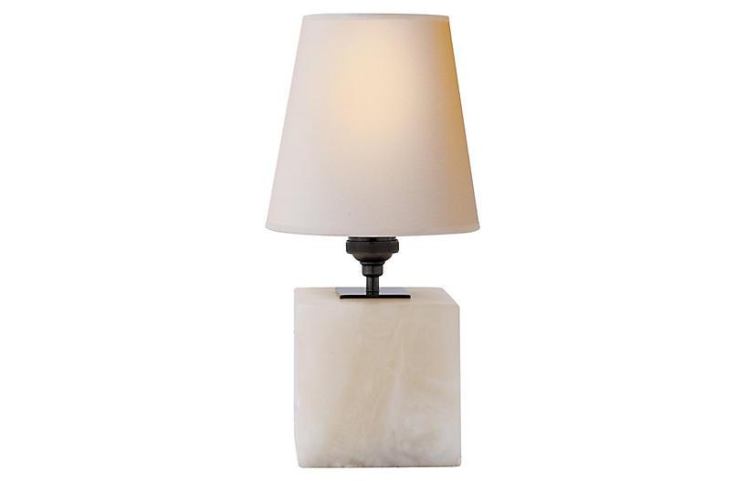 Terri Table Lamp, Alabaster