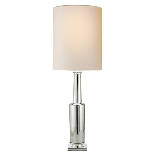 Fiona Table Lamp, Mercury Glass