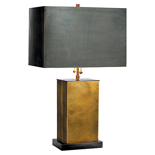 Dixon Table Lamp, Bronze
