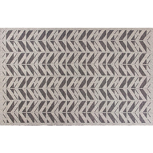 Covney Outdoor Rug, Gray