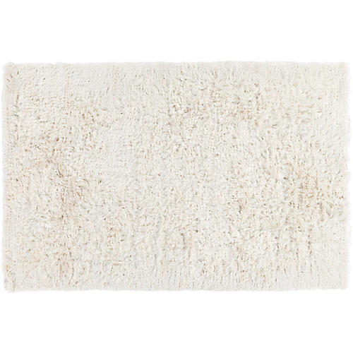 Aoide Shag Rug, Winter White