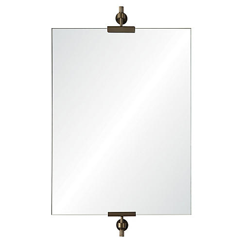 Alexandria Wall Mirror, Iron