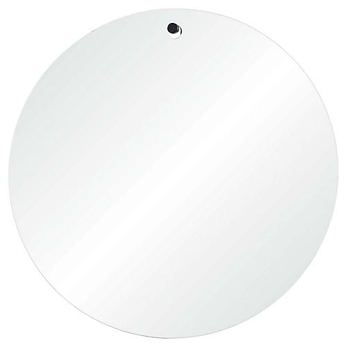 Brody Wall Mirror, Black