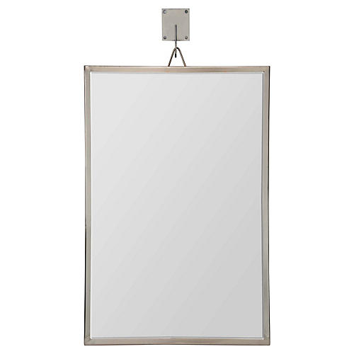 Ronan Wall Mirror, Pewter