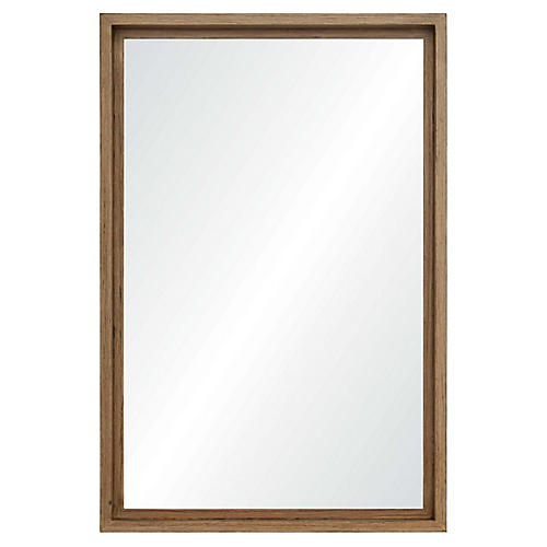 Davy Floor Mirror, Brown