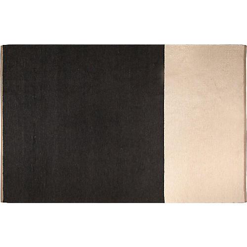 Doyle Rug, Charcoal/Cream