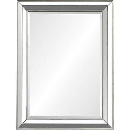 Hawkwell Wall Mirror, Silver