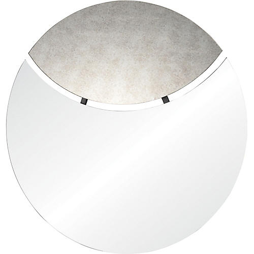 Ashley Wall Mirror, Antiqued Mirror