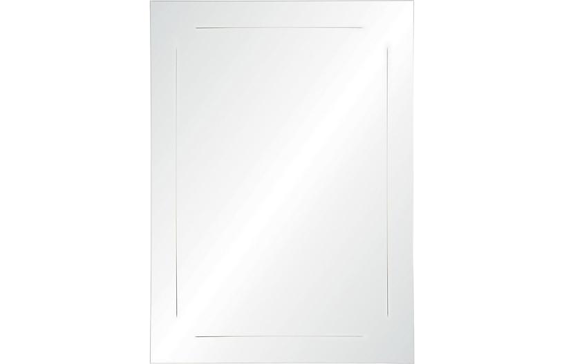 Dolan Wall Mirror, Mirrored