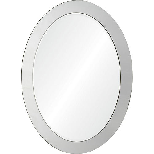 Ello Wall Mirror, Clear