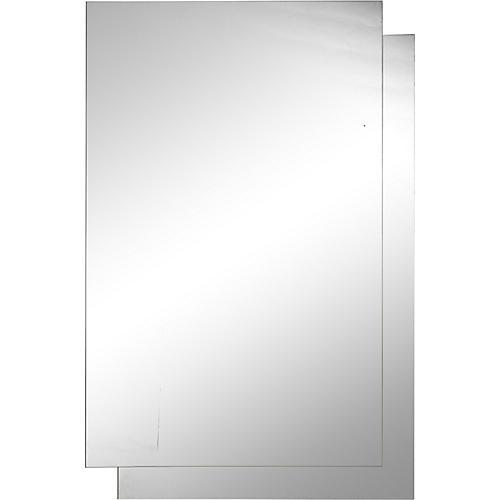 Gab Wall Mirror, Clear