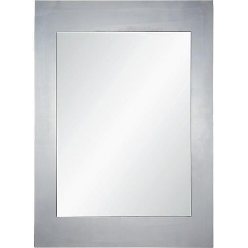 Chatham Wall Mirror, Silver Leaf