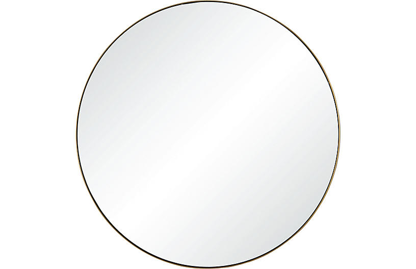 Witham Wall Mirror, Gold