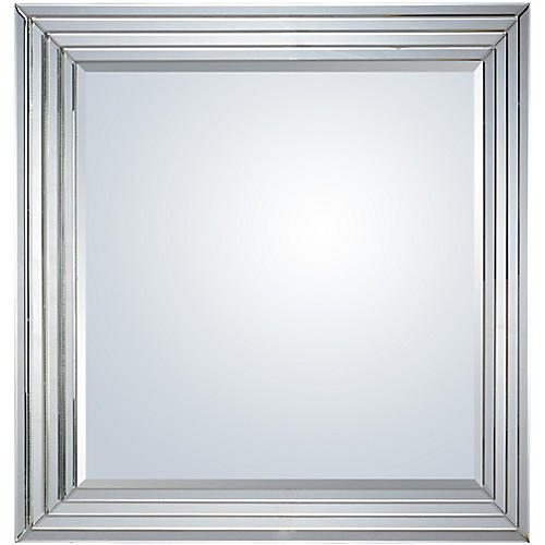 Shore Wall Mirror, Clear