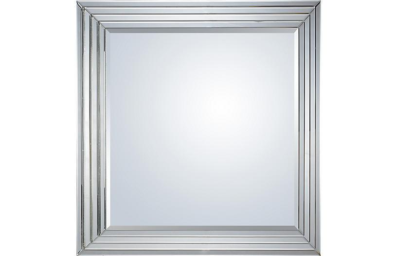 Shore Wall Mirror, Mirrored