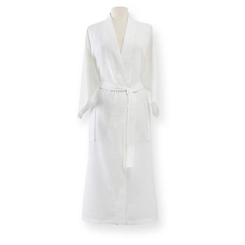 Edison Bath Robe, White
