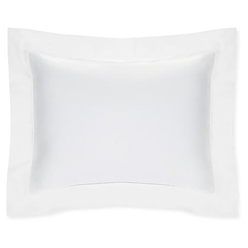 Celeste Continental Sham, White