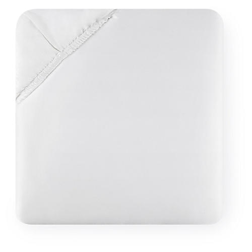 Fiona Fitted Sheet, White