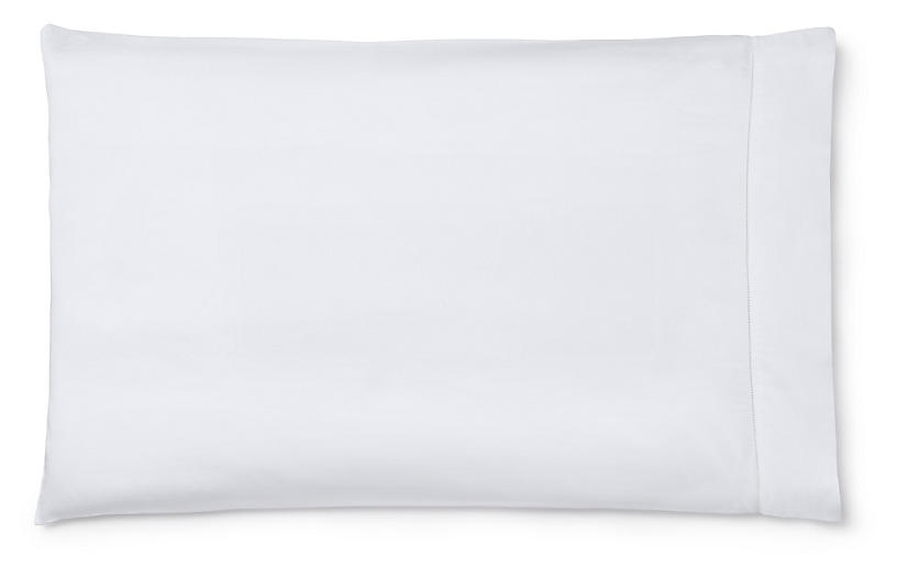 S/2 Fiona Pillowcases, White