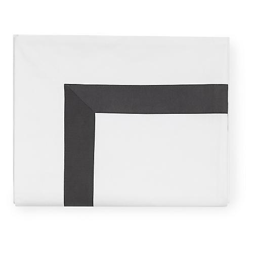 Orlo Flat Sheet, Charcoal