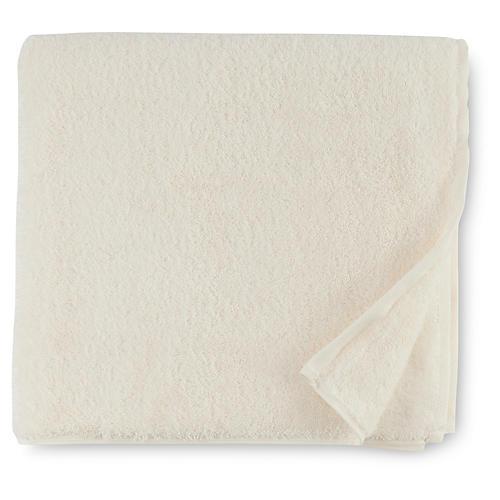Sarma Bath Towel, Ivory