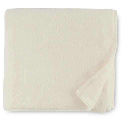 Sarma Bath Towel, Ivory