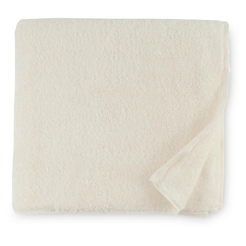 Sarma Bath Sheet, Ivory