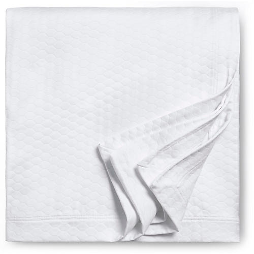 Favo Coverlet, White
