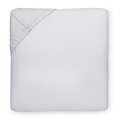 Celeste Fitted Sheet, Tin